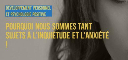 anxiété psychologie positive