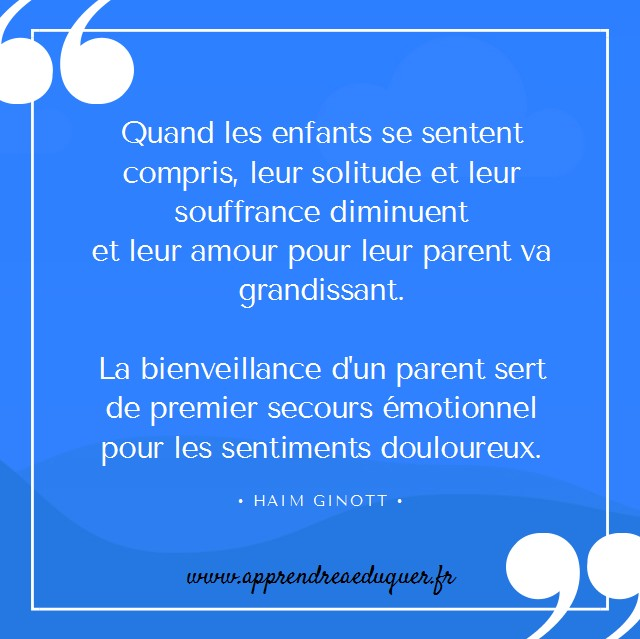 citation ginott éducation