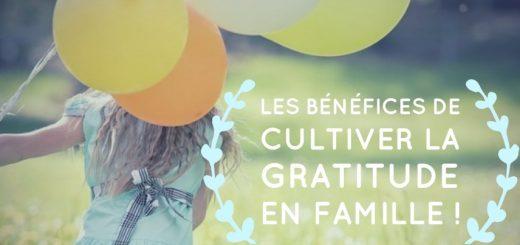gratitude en famille