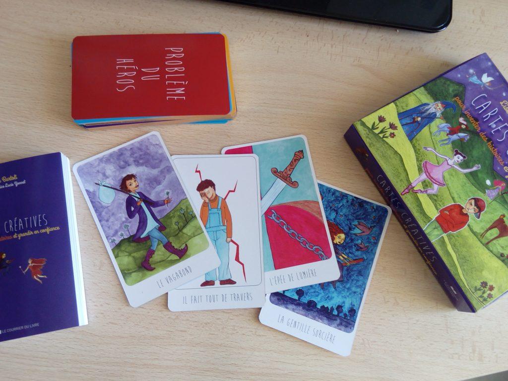 coffret cartes créatives enfants