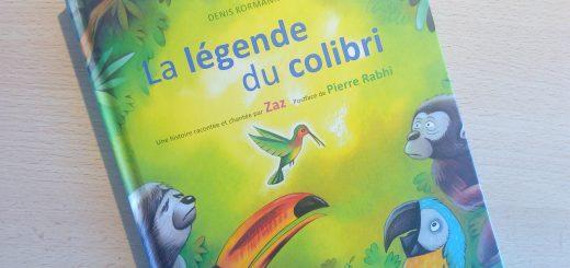 livre la légende du colibri enfants