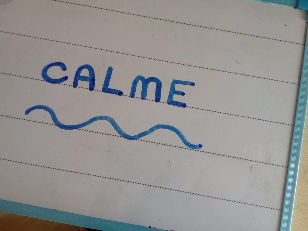 exercice pour se calmer