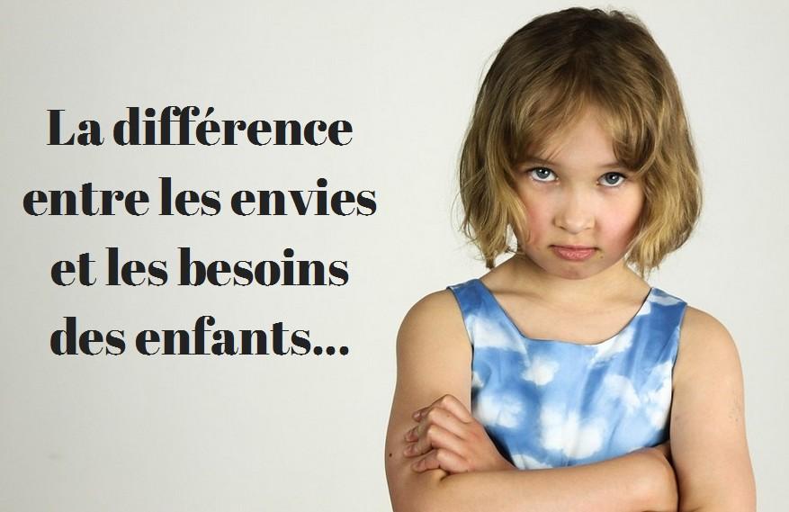 La diff rence entre les envies et les besoins des enfants - Difference entre encastrable et integrable ...
