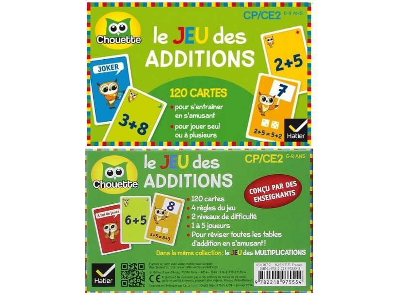 4 petits jeux pour progresser en calcul mental additions - Reviser les tables de multiplication ce2 ...