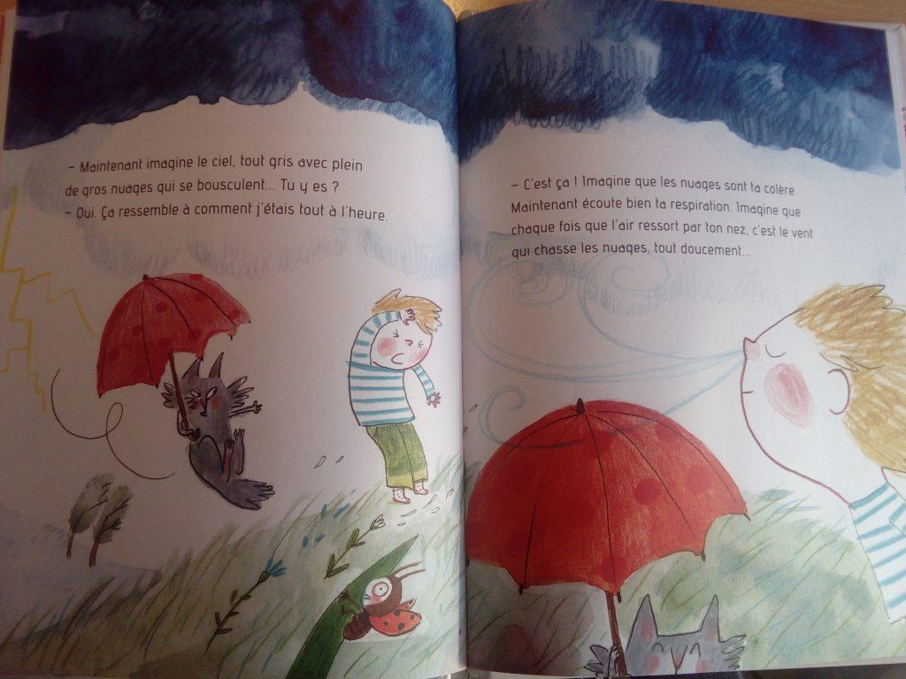 livre pour parler de la colère aux enfants