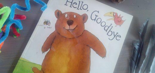 livre apprendre anglais enfants hello goodbye
