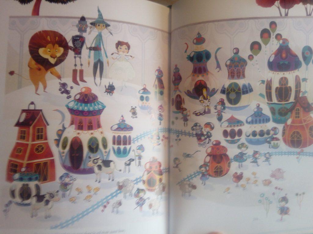 le magicien d'oz livre enfants