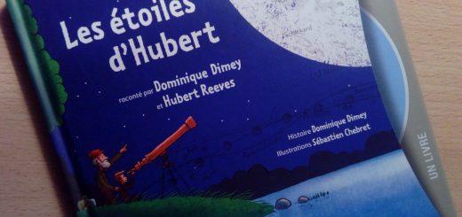 les étoiles d'hubert livre enfants