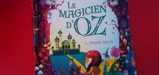 livre enfant magicien oz