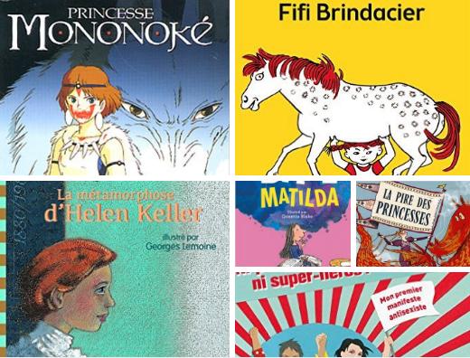 livres féministes enfants