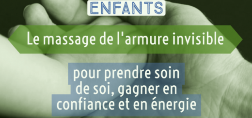 massage énergie confiance enfant