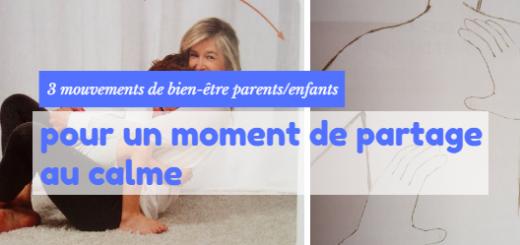 mouvements bien être parents enfants
