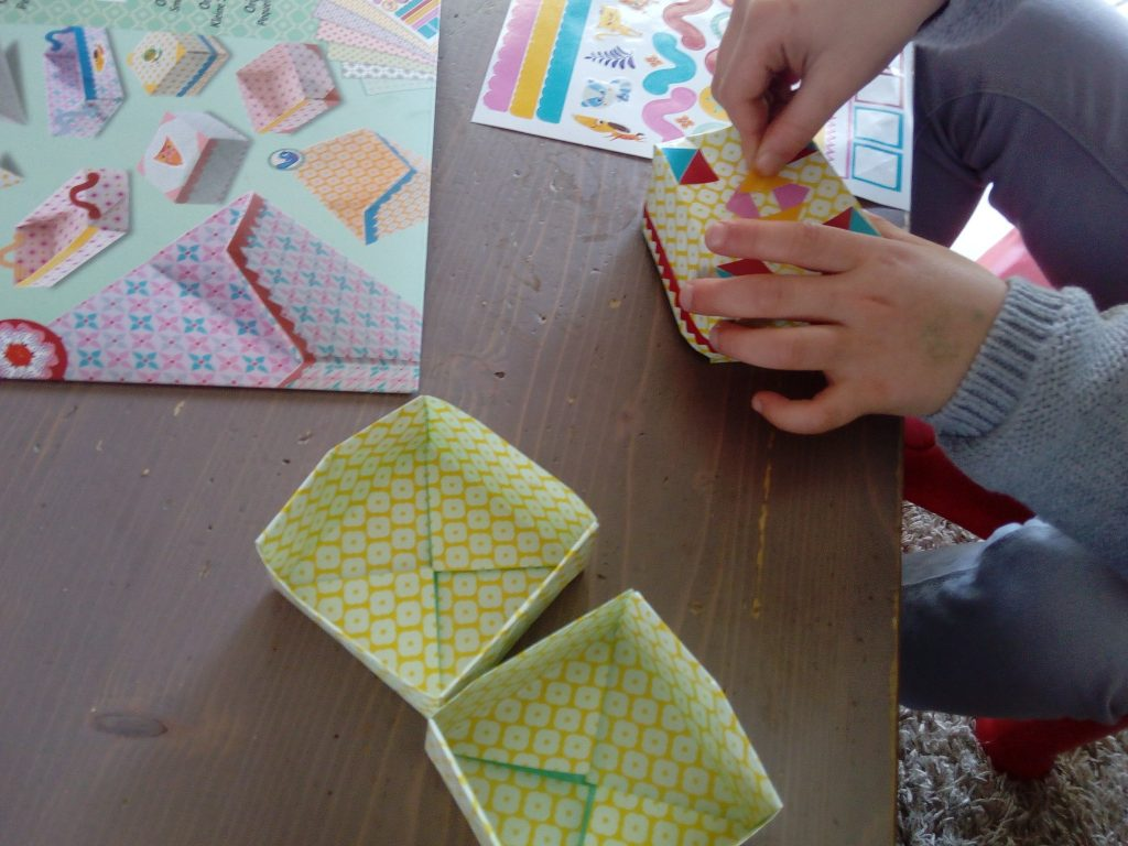 origami pliage enfants
