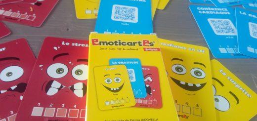 émoticartes jeu sur les émotions pour enfants
