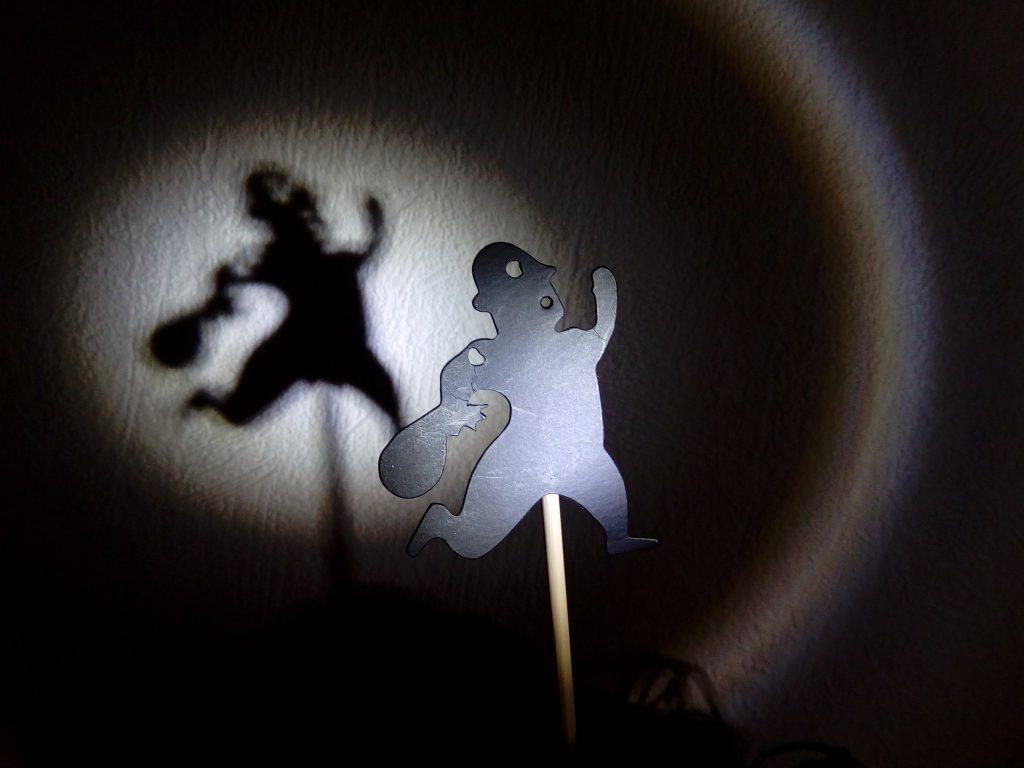 Marionnettes théâtre d'ombres