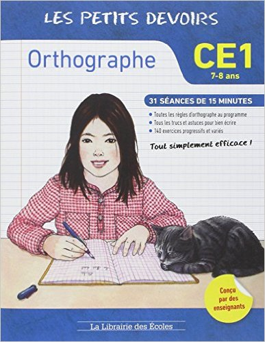 cahier entrainement orthographe
