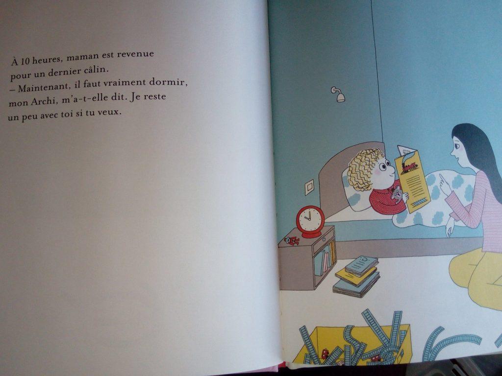 coucher des enfants livre