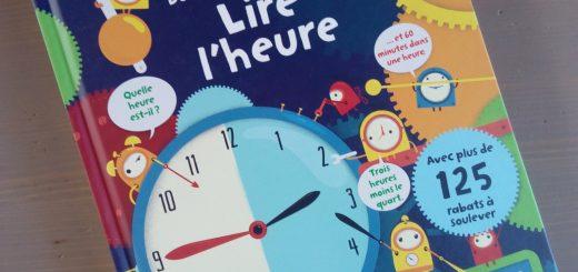 livre lire l'heure