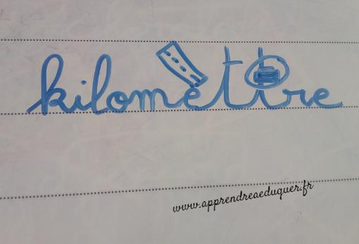dessin mémoriser orthographe d'un mot