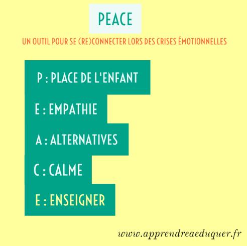 outil peace crise