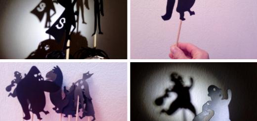 théatre d'ombres marionnettes