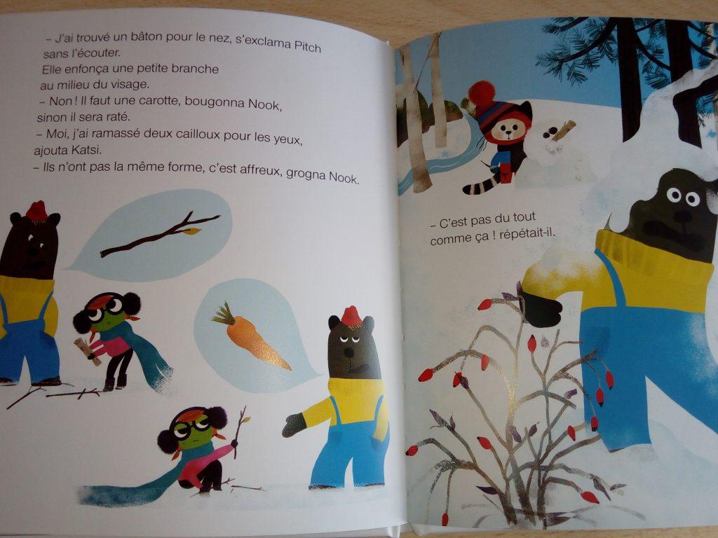 livre enfants persévérance
