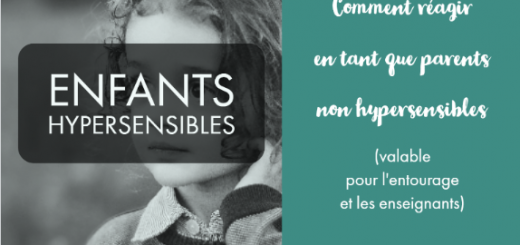 enfant hypersensible parent non hypersensible