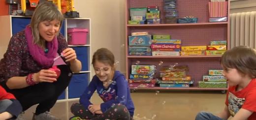 jeu des bulles pensées désagréables enfants
