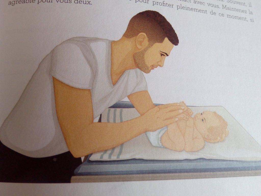 position de regroupement bébé