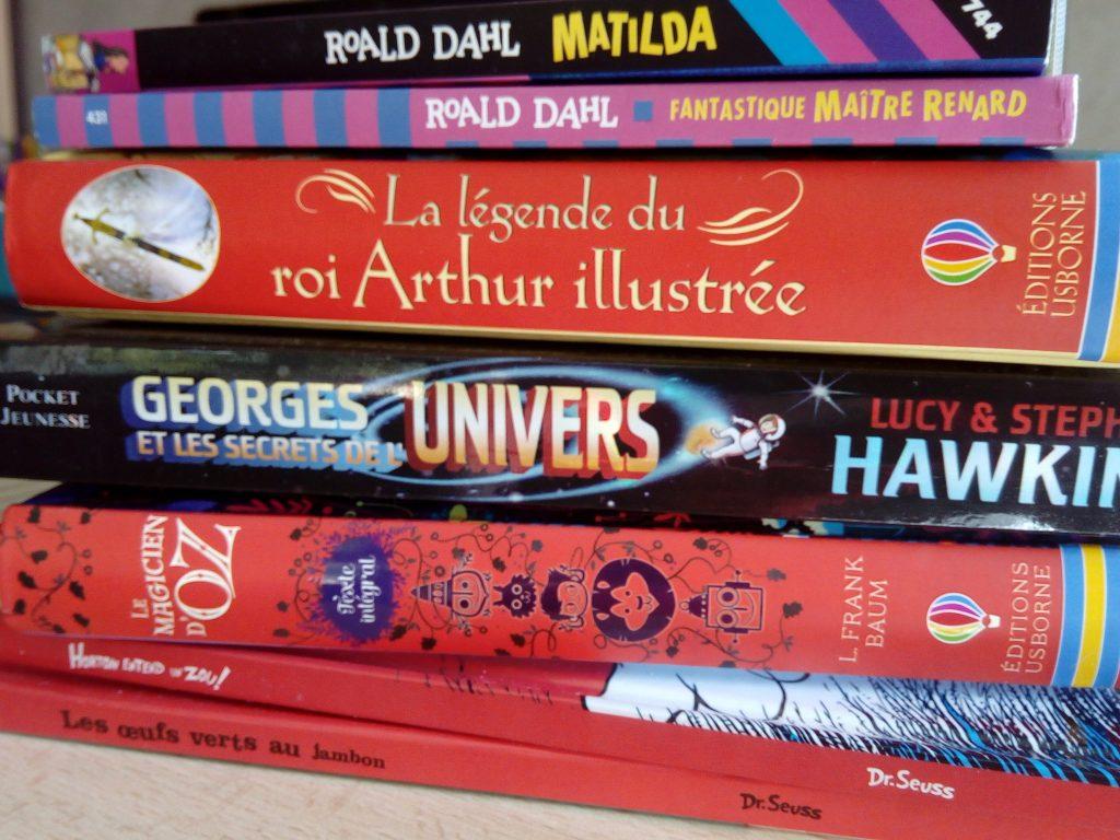sélection livres vivants lecteurs débutants
