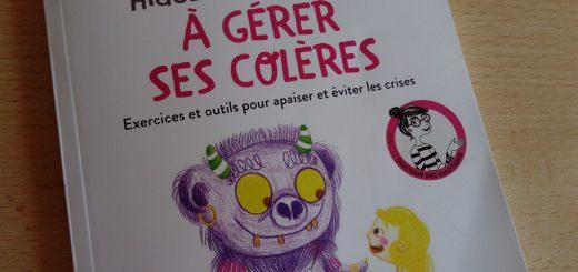 apprendre gérer colère enfant livre