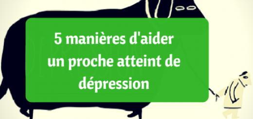 aider proche atteint dépression