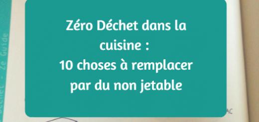 zéro déchet dans la cuisine