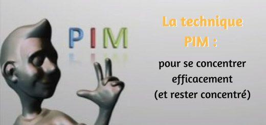 Comment se concentrer efficacement (et rester concentré) - la technique PIM