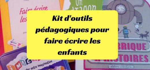Kit d'outils pédagogiques pour faire écrire les enfants