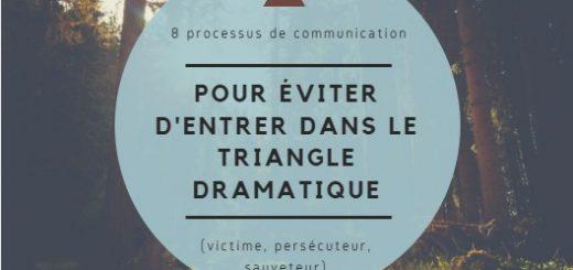 communication éviter entrer triangle dramatique