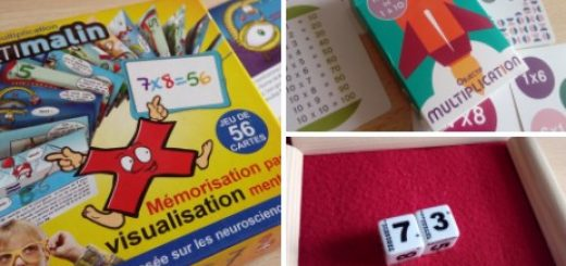 jeu mémoriser tables multiplication