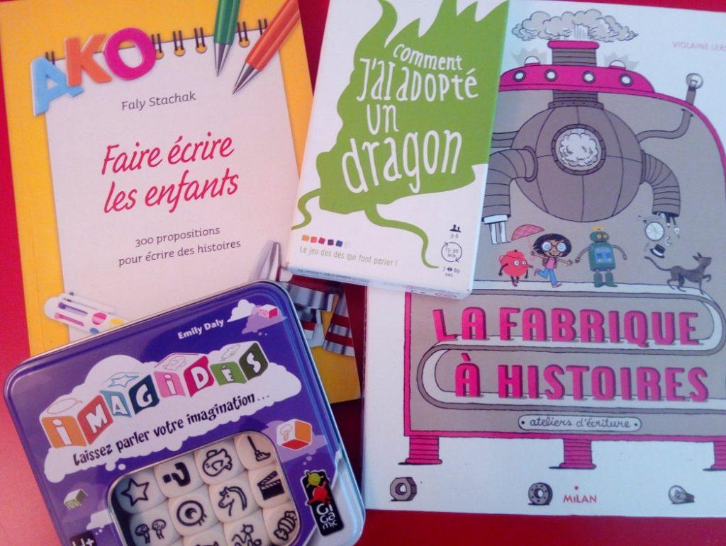 outils pour faire écrire les enfants