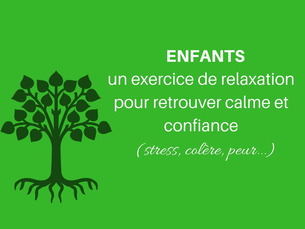 Enfants : un exercice de relaxation pour retrouver calme ...