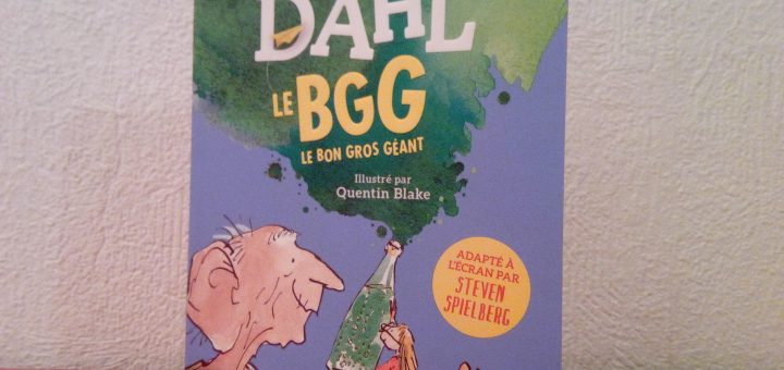 livre bgg bon gros géant