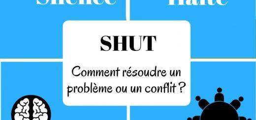 shut enfant résoudre problème