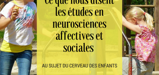 neurosciences affectives et sociales cerveau enfants