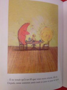 livre mon amie la lune enfant