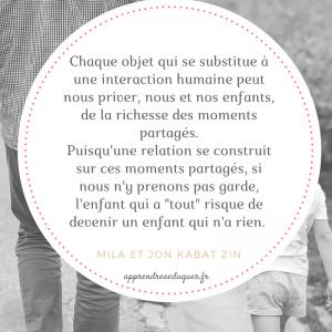 citation parent pleine conscience