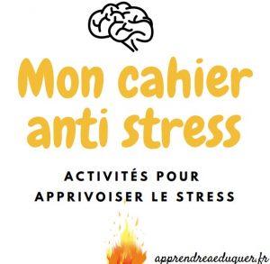 mon cahier anti stress enfant