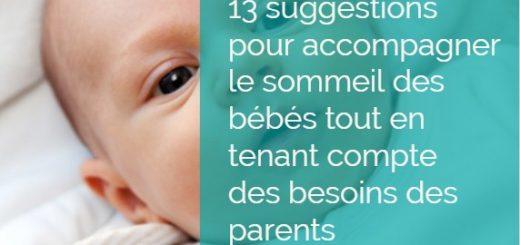sommeil bébé besoins parents