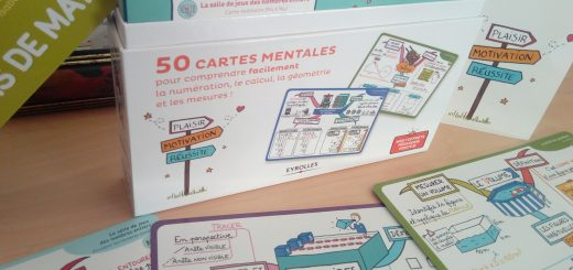 coffret cartes mentales maths