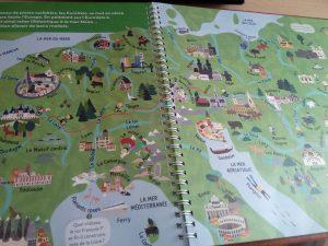 livre géographie enfant