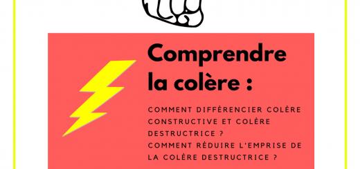 différencier colère constructive et colère destructrice