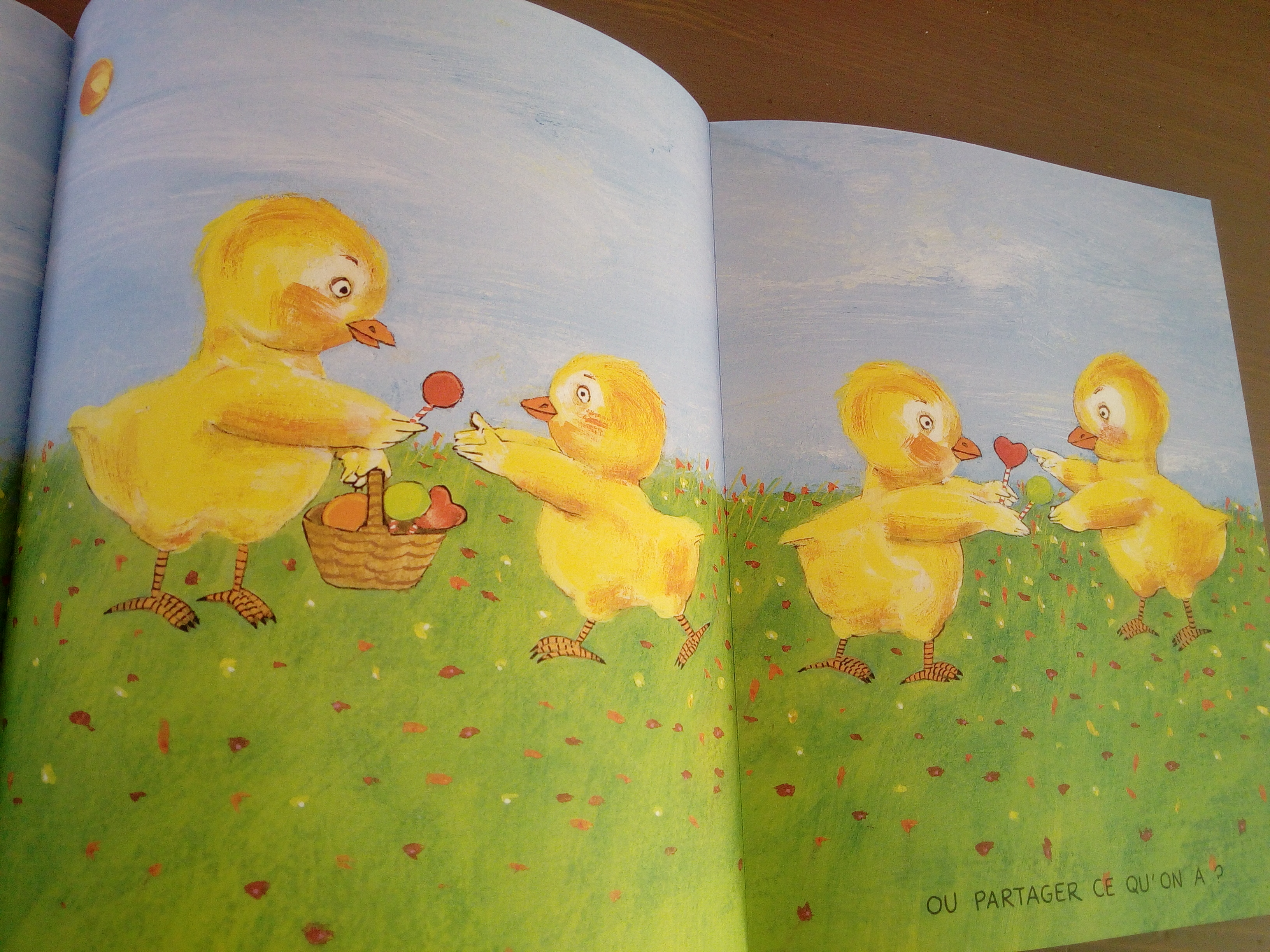 parler bonheur avec enfants